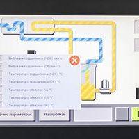 Панель Magelis в компрессорах СН
